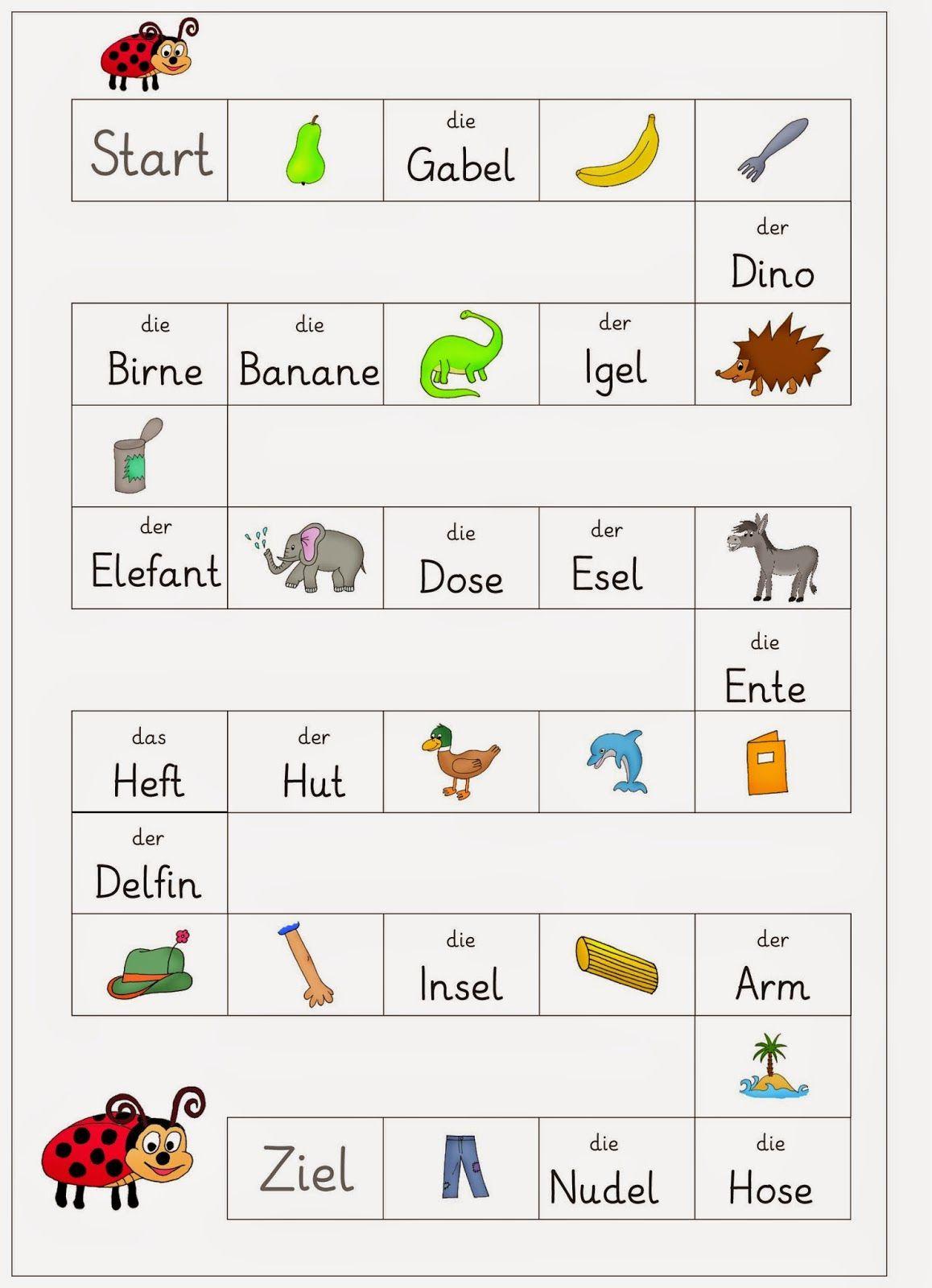 Lernstübchen: DEU 1 erstes Lesen   nyelvtanulás   Pinterest ...