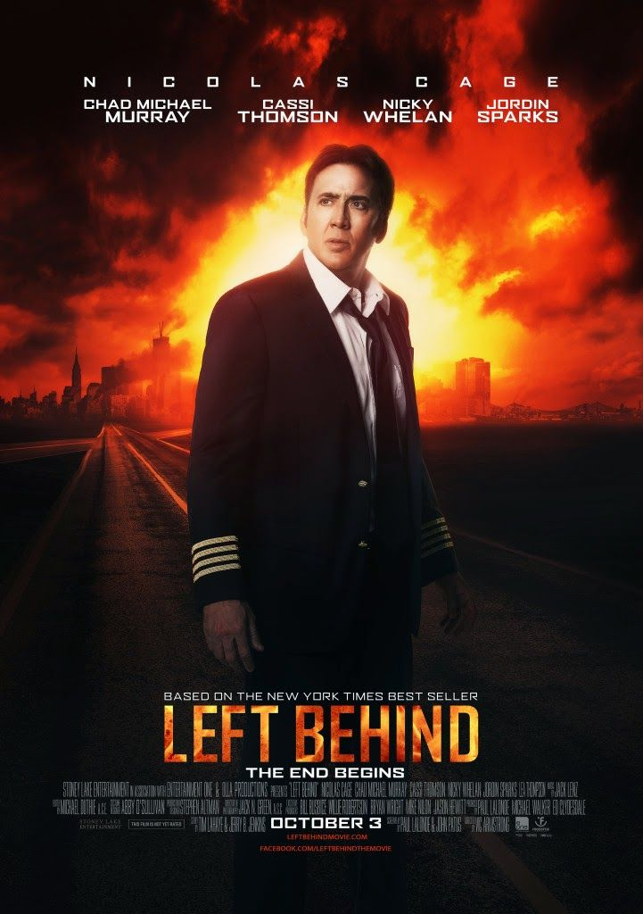 NICHOLAS CAGE INTERVIEW about new LEFT BEHIND MOVIE http://psalm516.blogspot.com/2014/09/nicholas-cage-talks-about-left-behind.html