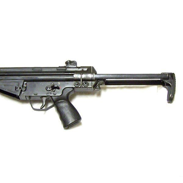 German G3 Collapsible Stock - On rifle - Extended   guns im going to