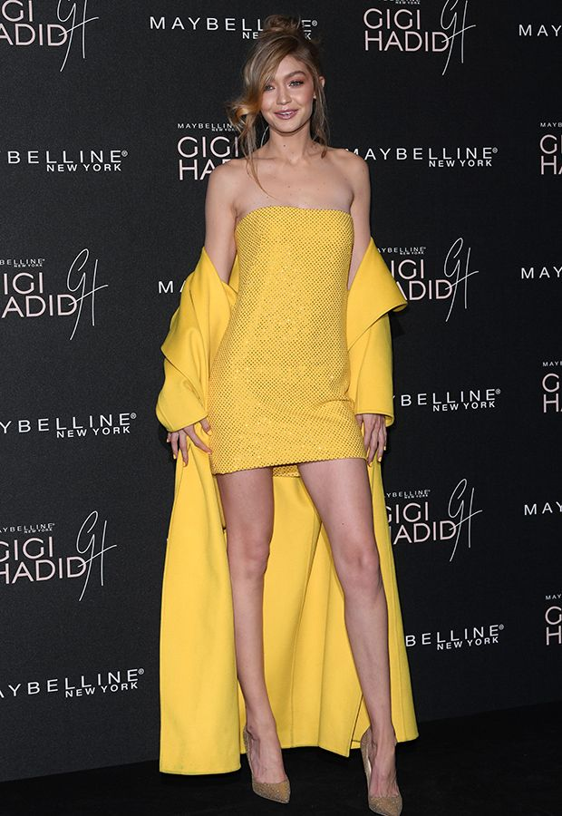 4ca84353b8 Gigi Hadid Shines In Yellow — How To Wear The Fall Trend Like ...