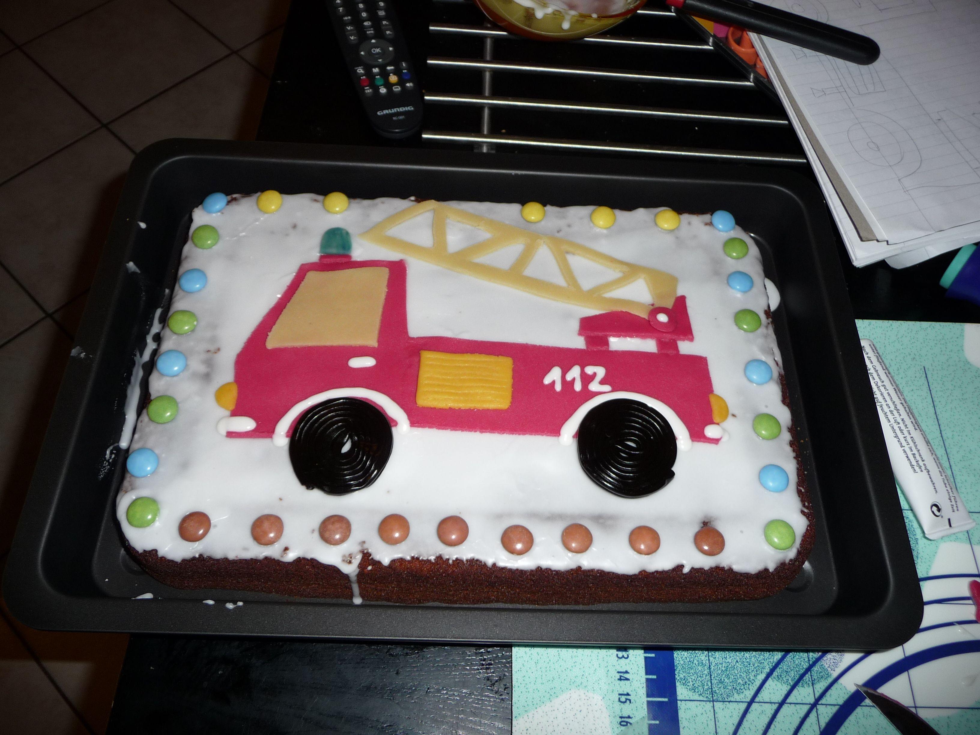 Feuerwehrkuchen  Koch  Backrezepte  Feuerwehr kuchen
