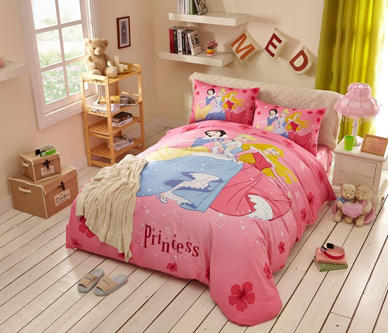 Disney Princess Bed Sheets Set Twin Queen Size Ebeddingsets Bed Linens Luxury Bedding Sets Queen Bedding Sets