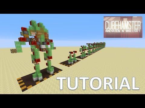 Minecraft Atlas Mech Robot Suit Tutorial for PC Xbox