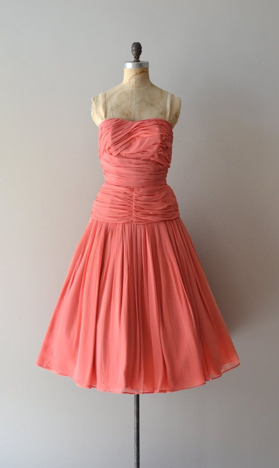 1950s dress / vintage 50s dress / Unforgettable Season dress