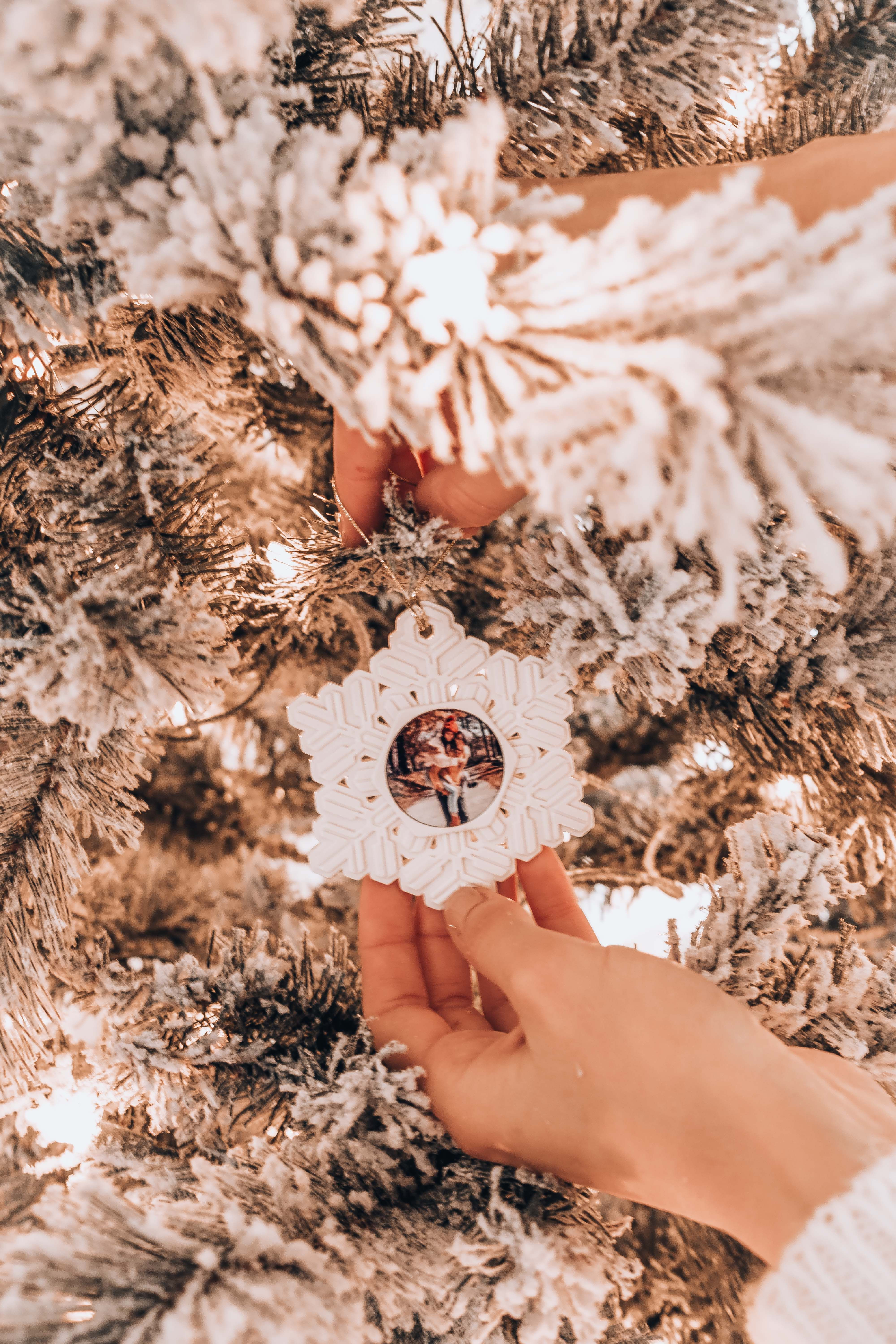 Shop homemade holiday snowflake ornaments. With the busy ...