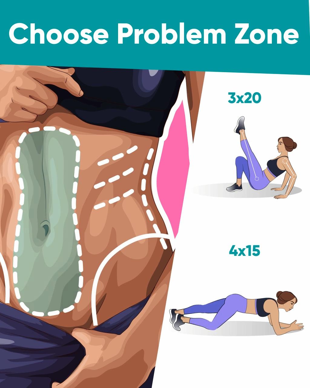 Photo of Gewichtsverlust Plan für jede Problemzone
