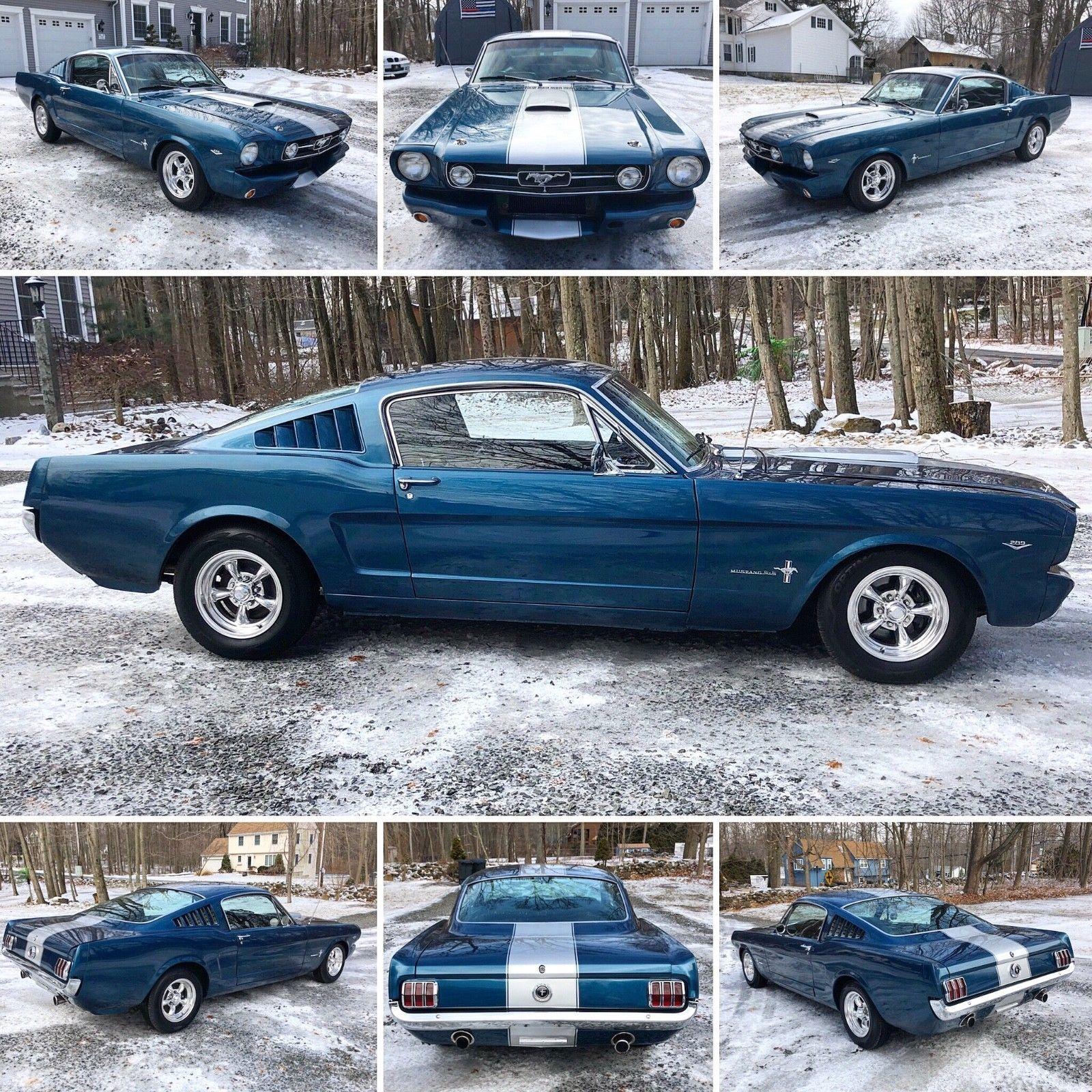 1965 ford mustang mustang fastback 1965 ford mustang fastback 2 2 289 v 8 with pony interior 29999 00 29999 00