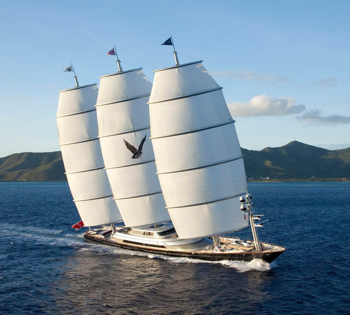 Project Maltese Falcon Sailing Yacht Maltese Falcon Yacht Yacht
