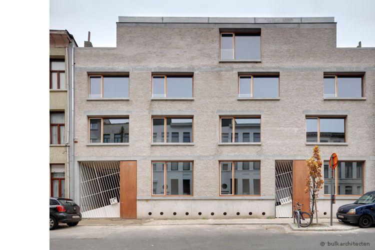 Bulk architecten projecten woningen vvb09 for Hedendaagse architecten