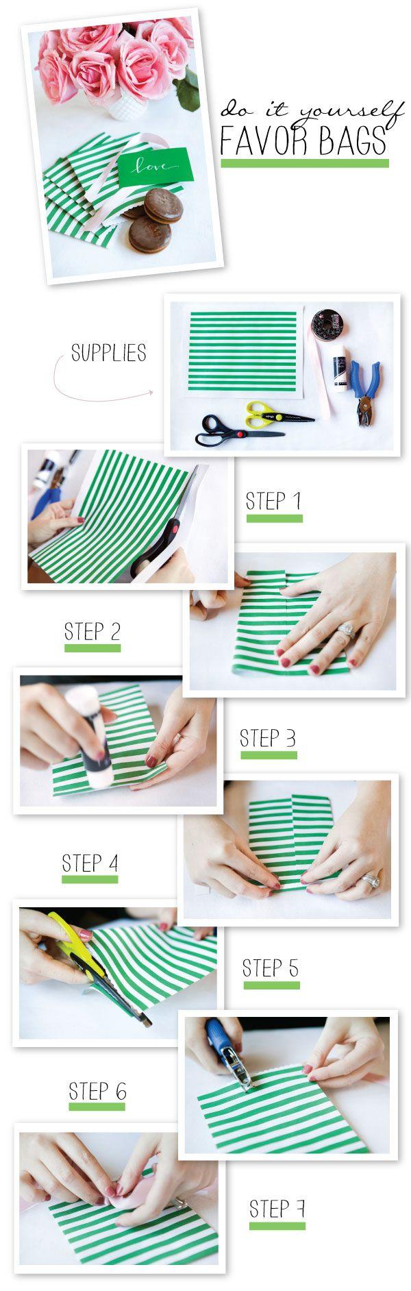 Wrap It Up Pretty + Winners + DIY Favor Bags! | Favor bags, Favors ...