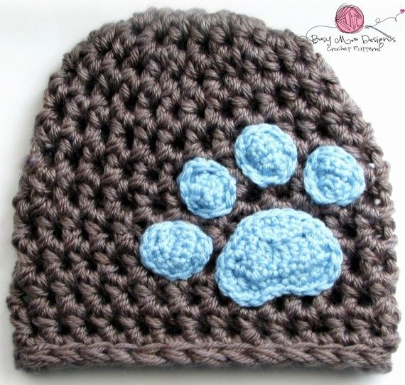 I would make this hat maroon with a white bulldog paw! Go State!
