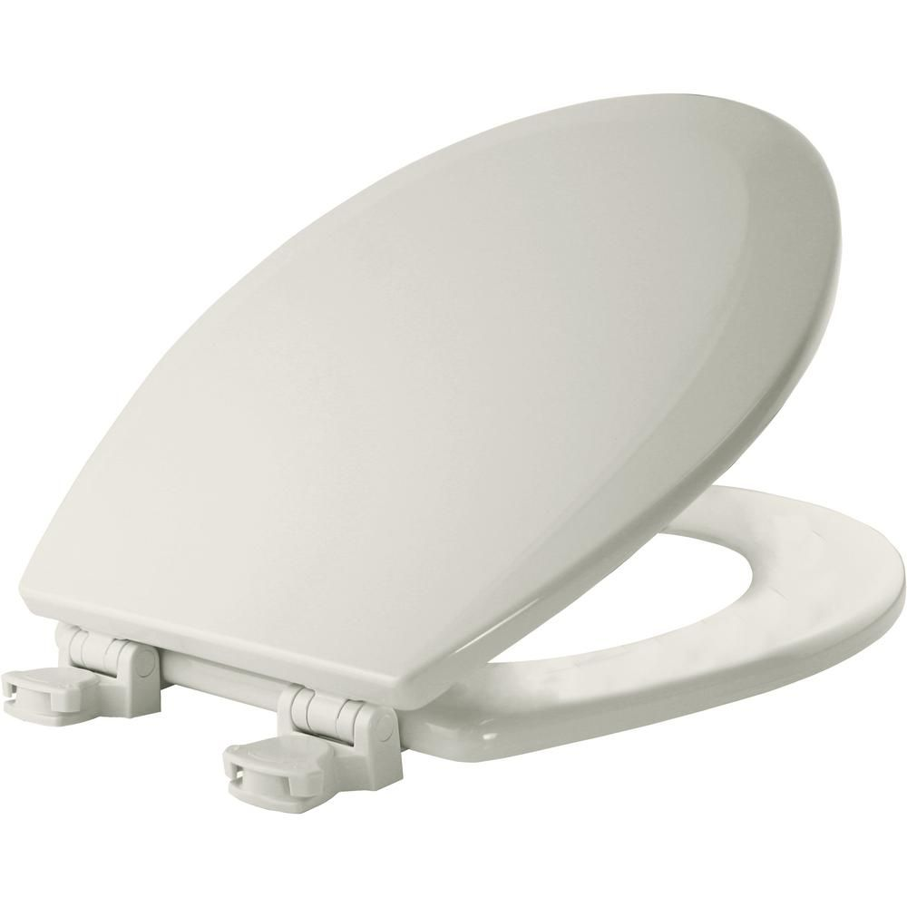 Church Round Closed Front Toilet Seat In White Lift Off Hinges