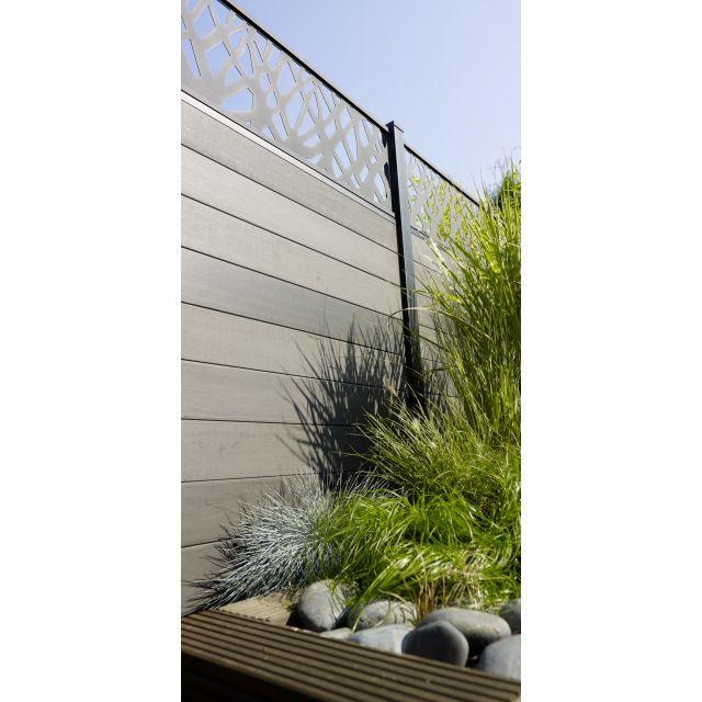 Free place avec le panneau composite idaho composez et for Rail panneau japonais castorama