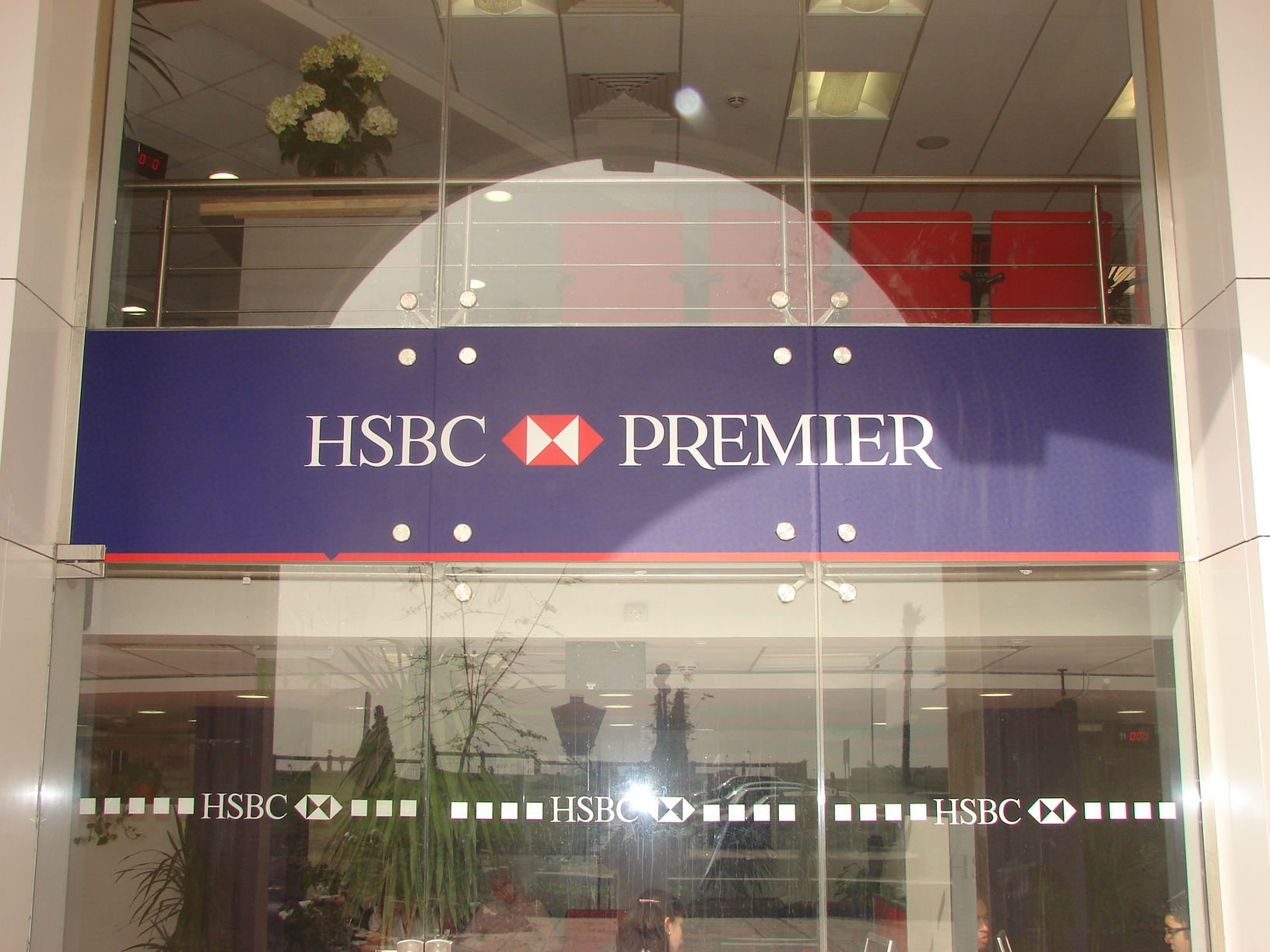 HSBC Premier Vinyl Poster Obour branch1 by Better & Partners'  Address : 55 Shehab St. Mohandessin, Gîza, Egypt, 123456 Phone : + 20 2 3303 7199  e-mail: info@betterandpartners.net