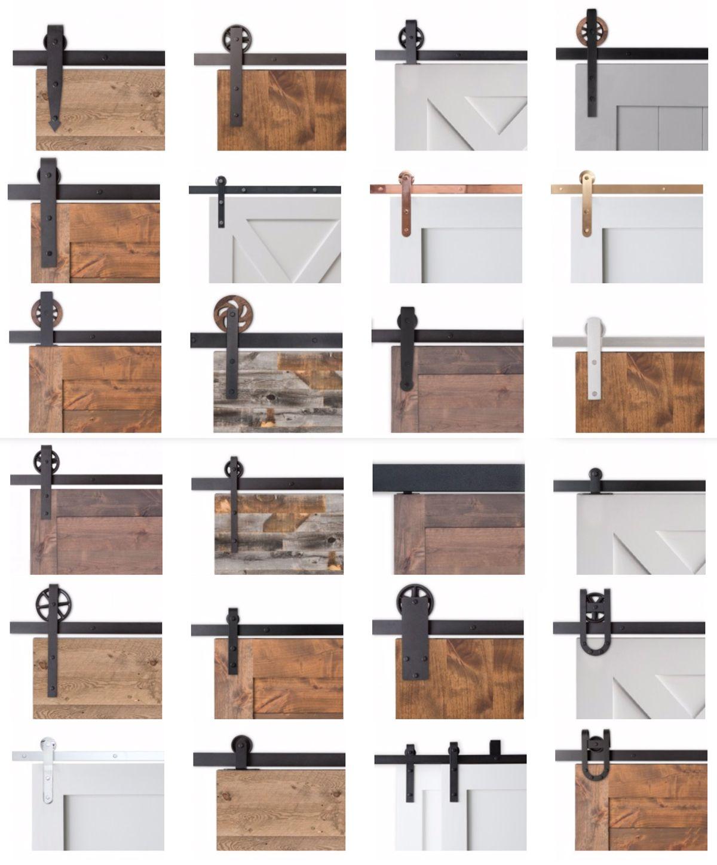 Barn doors: last Pinterest sliding doors trend