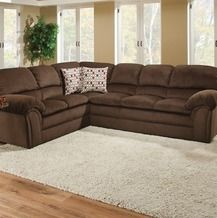 Simmons Bebop 2 Piece Chocolate Sectional From Big Lots 699 99 Family Room Decorating Living Room Sectional Living Room Themes
