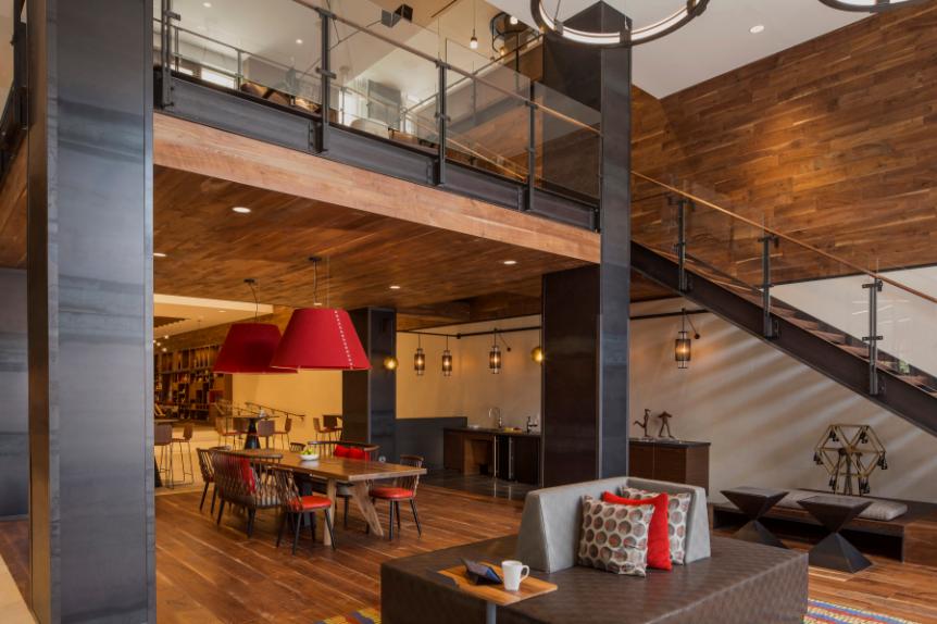 Multi family construction interior design services in dc metro area hartman design group