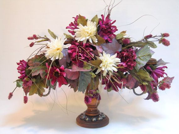 Nice FALL DECOR Centerpiece, Candelabra, Fall Silk Flower Arrangement,  Thanksgiving Centerpiece, Table Decor