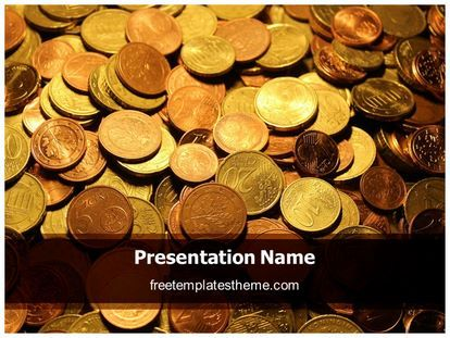 Download free coins background powerpoint template for your download free coins background powerpoint template for your powerpoint toneelgroepblik Gallery