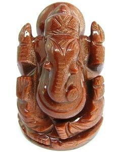 GoldStone Ganesha 8-10 Carat | AstroKapoor.com USD 8  #goldstone #ganesha