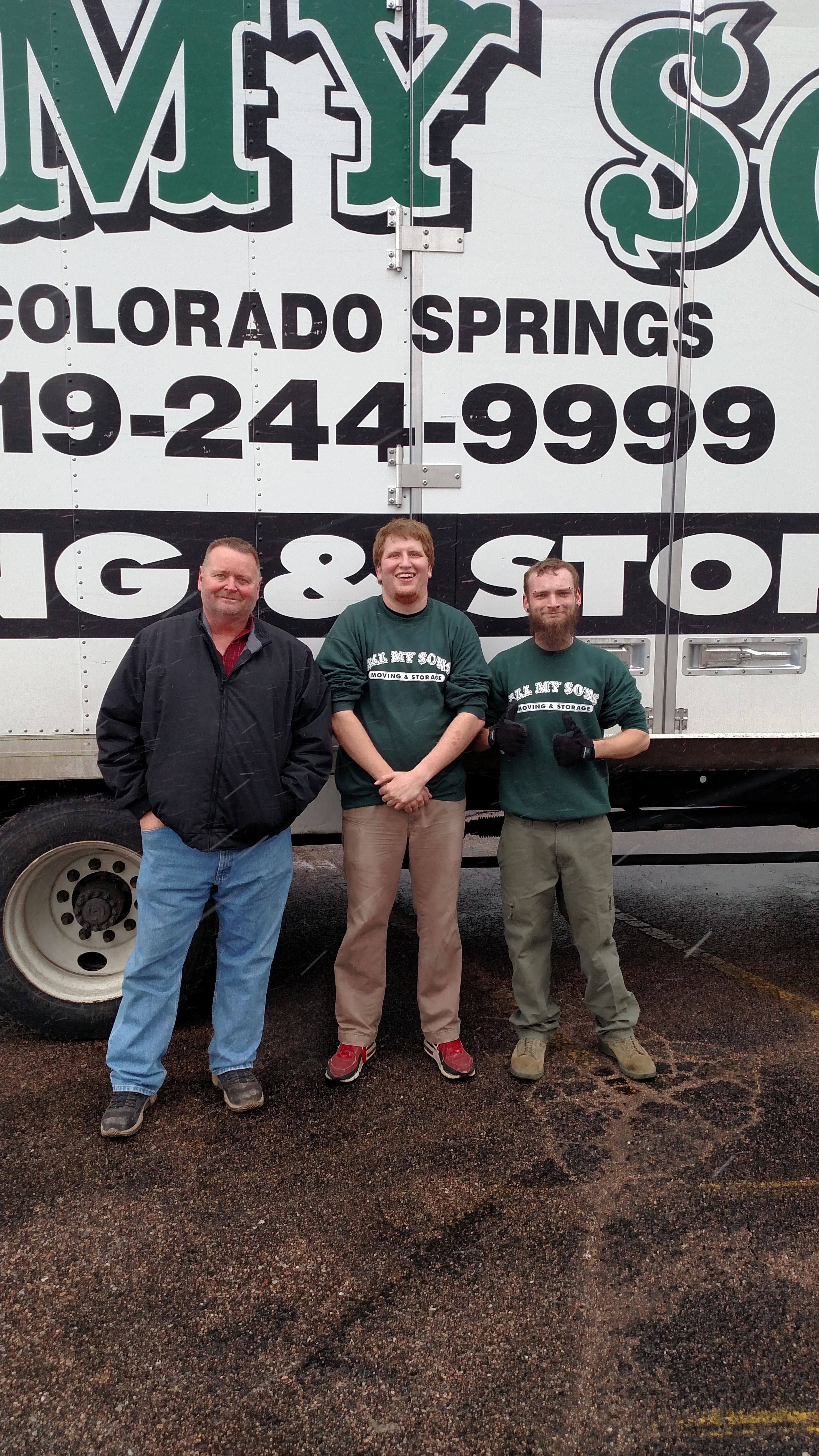 Customer Brian Huggins Of Colorado Springs Co Said All My Sons S