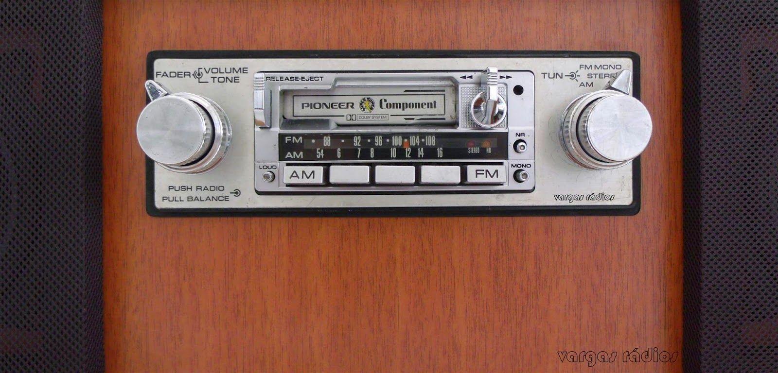 Rack Em Madeira Para Radios Automotivos Antigos Pioneer Kpx 9500