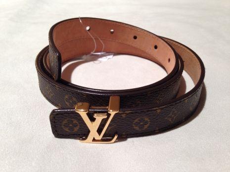 Louis Vuitton Mini Monogram Women's Belt 20MM