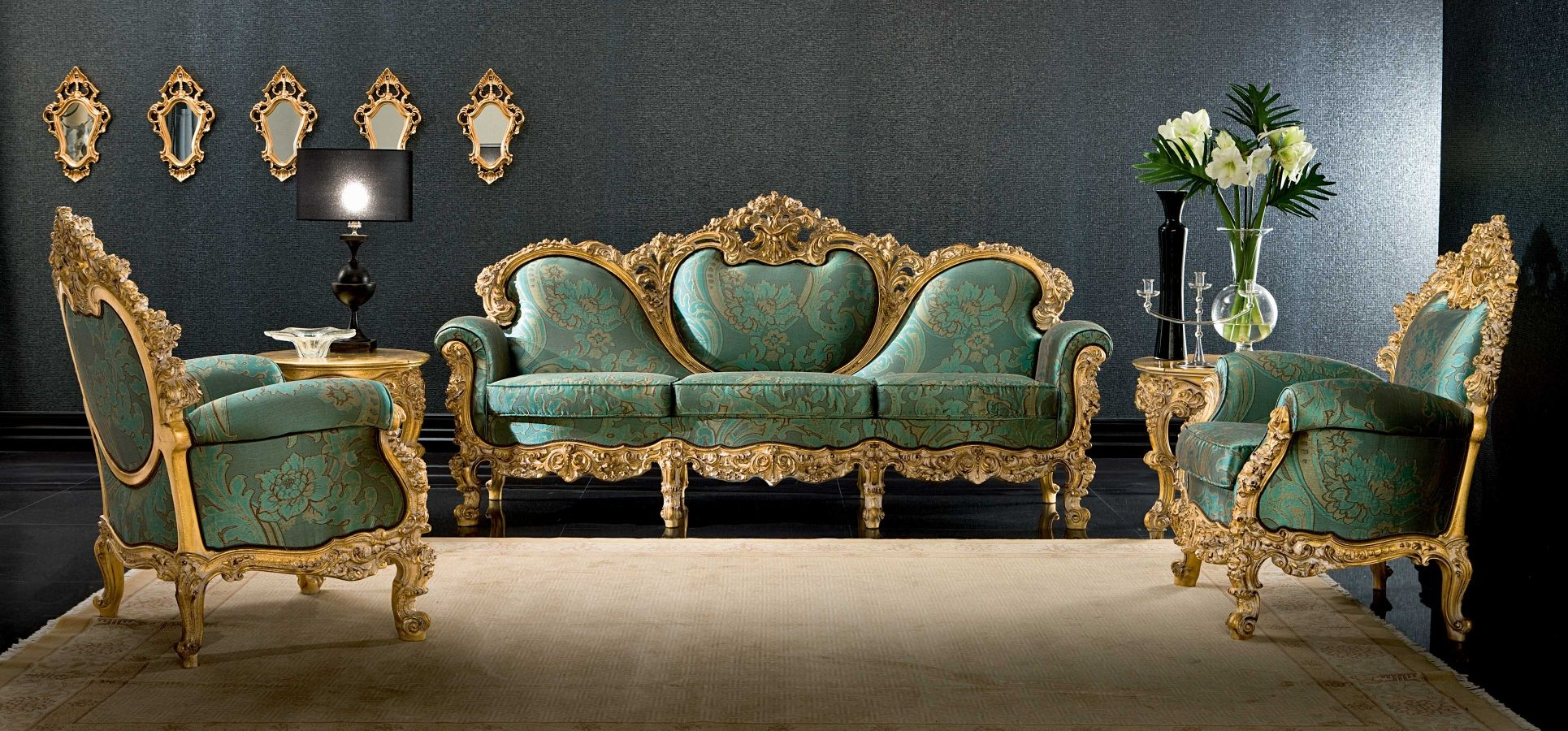 Plutone Living Room By Silik Italian Furniture Luxury Furniture Stores Classic Furniture Design