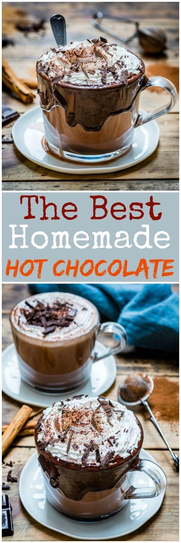 Homemade Hot Chocolate   Recipe   Hot chocolate recipes ...