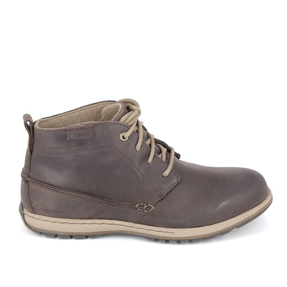 Columbia Davenport Chukka Water Marron | shose | Boots
