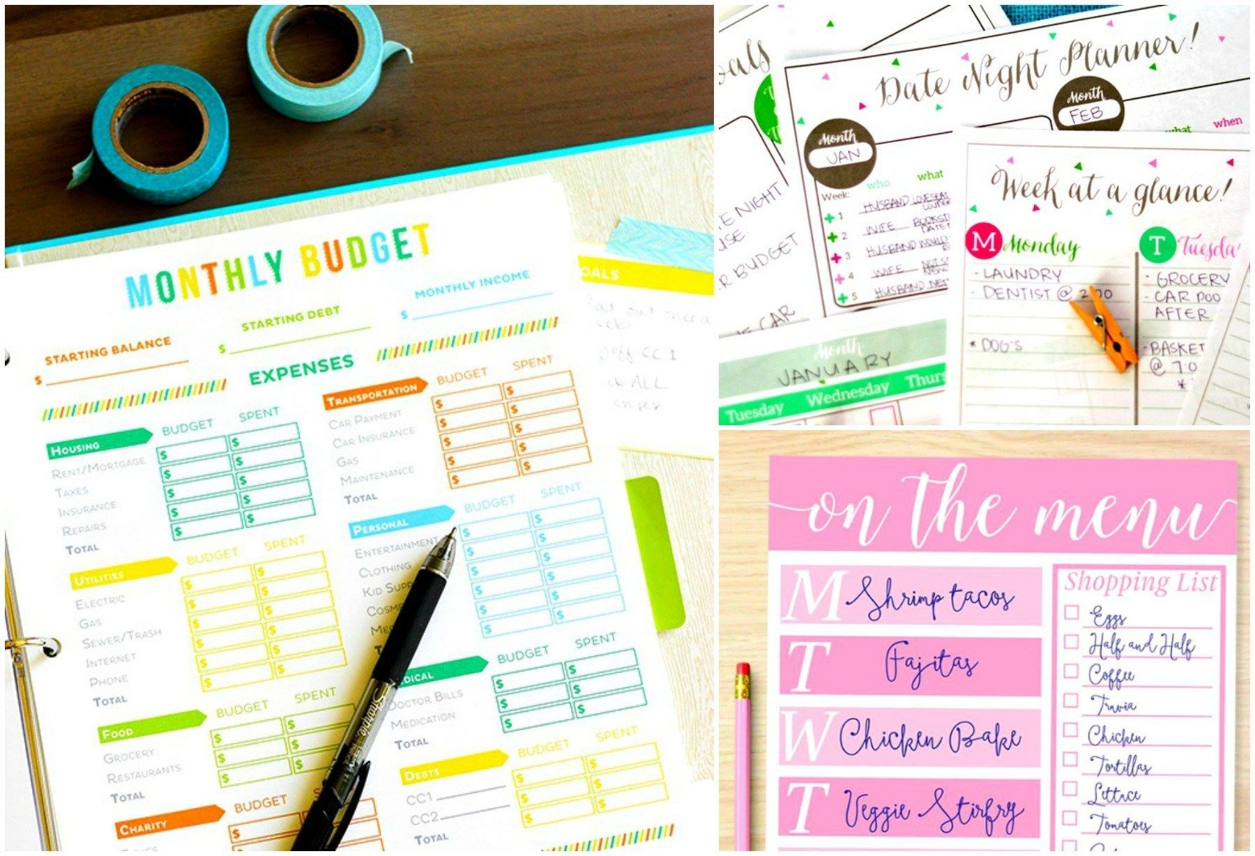 40 Free Budget Printables That Ll Save You A Ton In