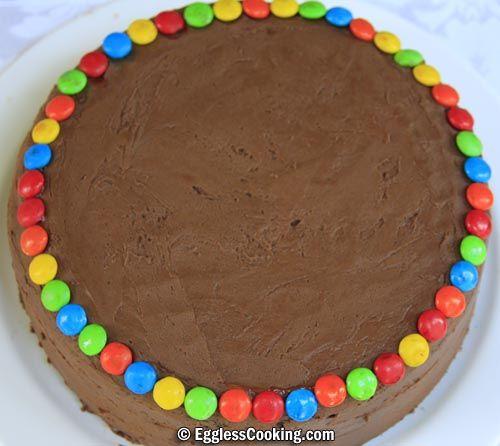 Eggless Chocolate Cake Recipe Eggless Chocolate Cake Chocolate Cake Recipe Cake
