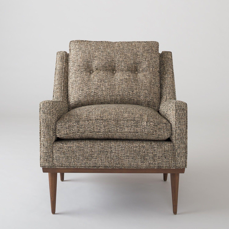 Lovely Jack Chair   Nubby Tweed
