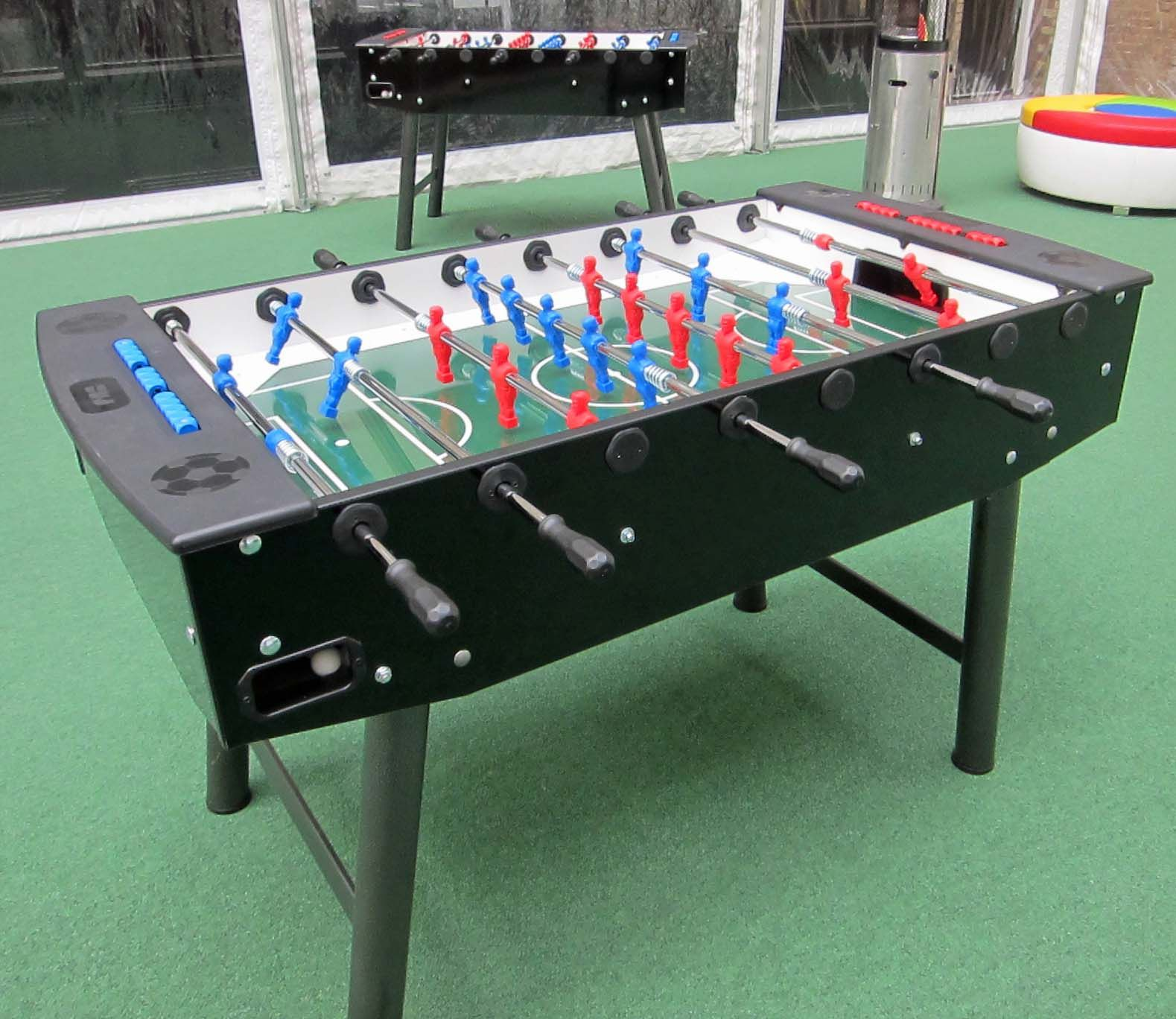 Event for Google in London, using table football supplied