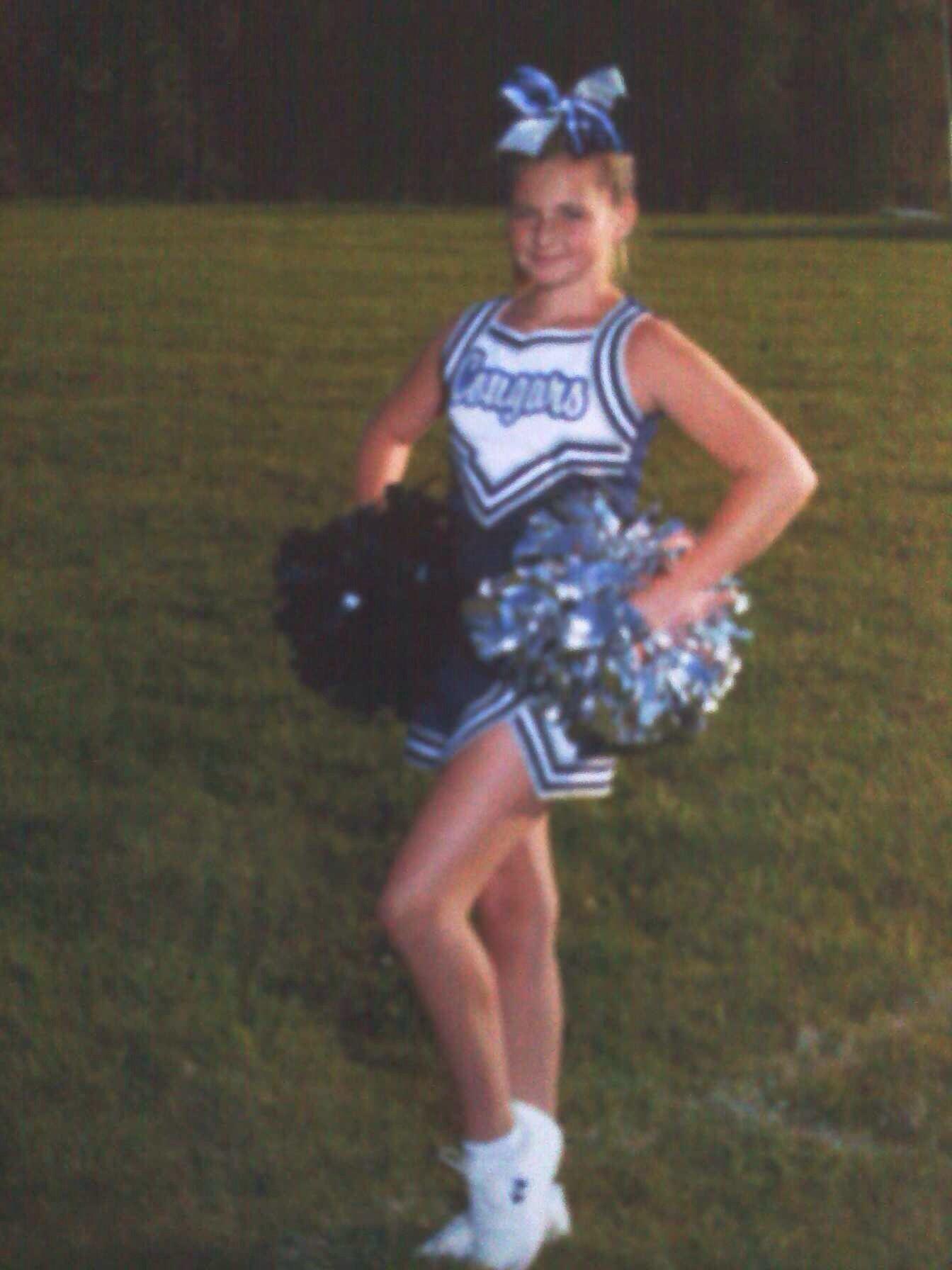 My cheerleader!