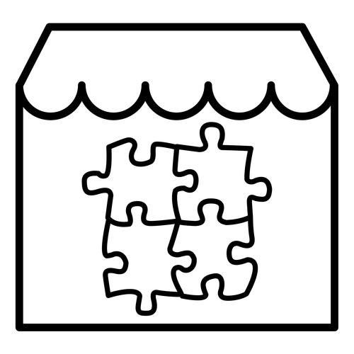 Recursos Para Educacion Infantil Dibujos De Tiendas Y Edificios Tiendas Fichas Educacion Infantil
