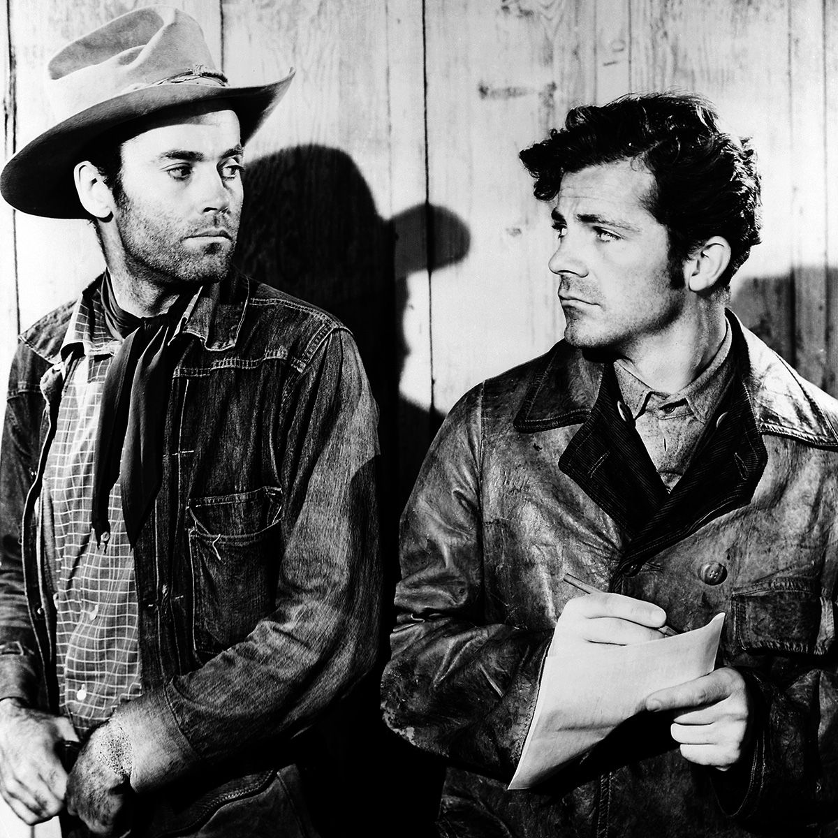Henry Fonda And Dana Andrews In The Ox Bow Incident