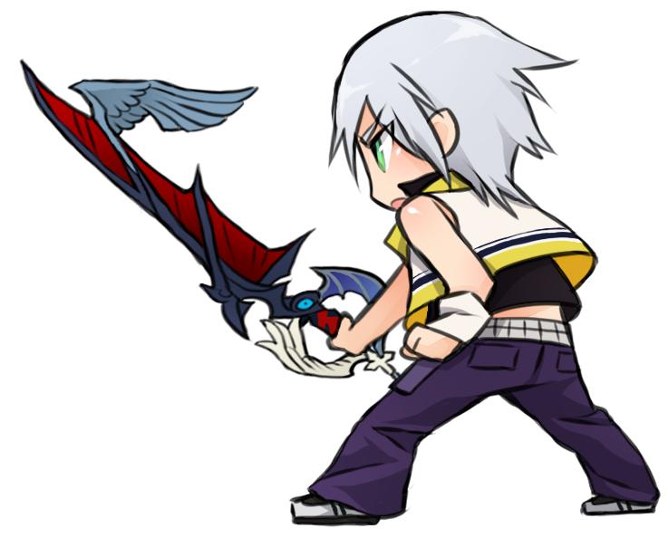 Chibi Riku | Kingdom Hearts | Pinterest | Videojuegos, Llaveros y ...