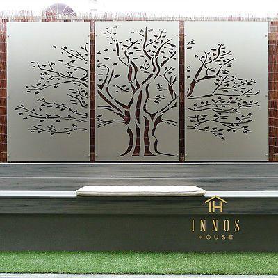 Tree Of Life Triptych Diy Decorative Screens Indoor Outdoor Garden Wall Art Garden Wall Art Metal Tree Wall Art Tree Wall Art Diy
