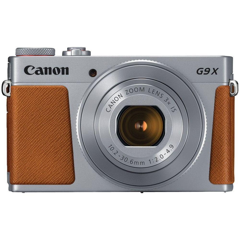 Canon 20.1-megapixel Powershot G9 X Mark Ii Digital Camera (silver ...