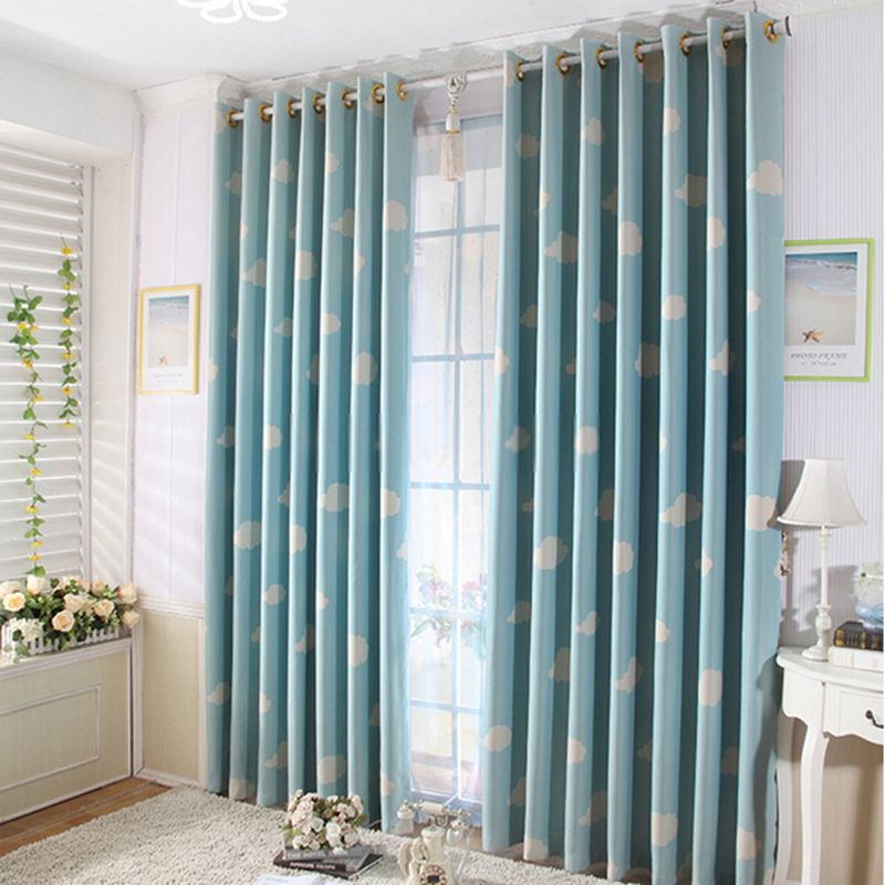Kids Bedrooms Best Curtains Online In Blue Color