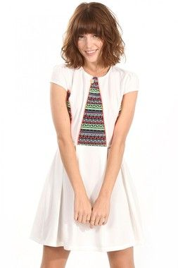 Tribal Pattern Party Dress