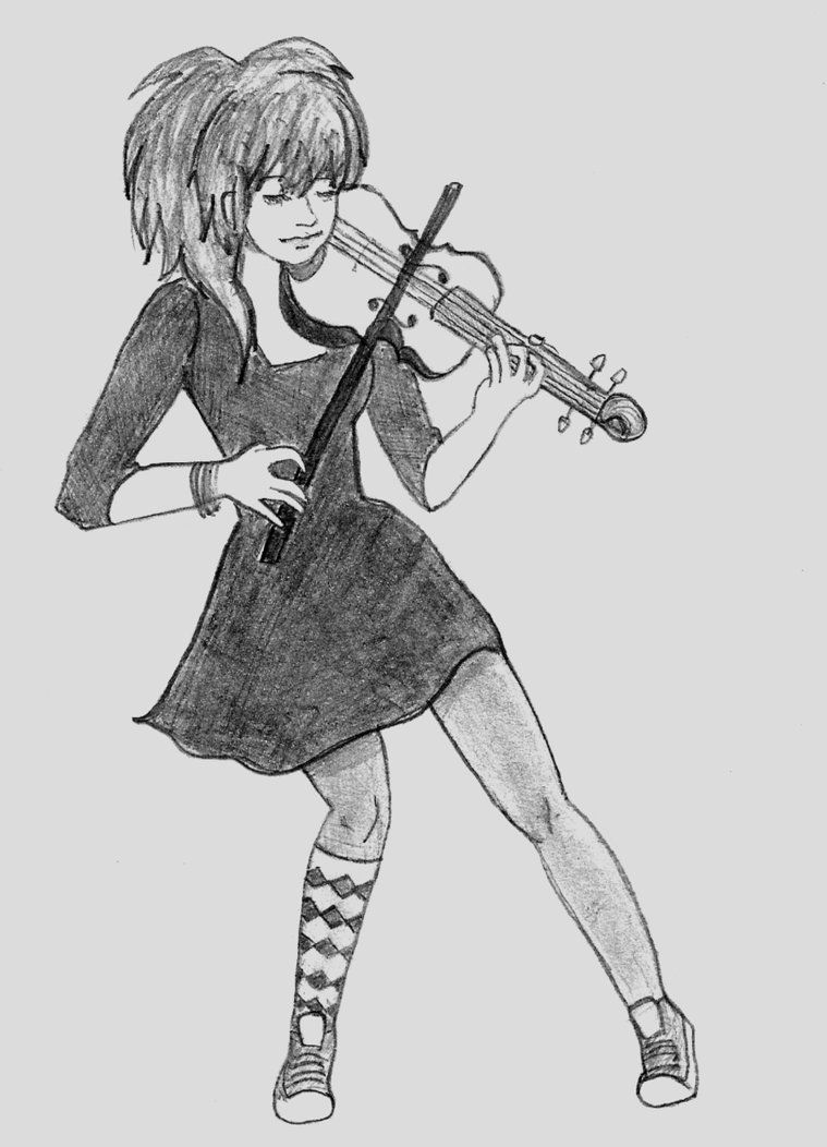 lindsey stirling drawing - Google Search