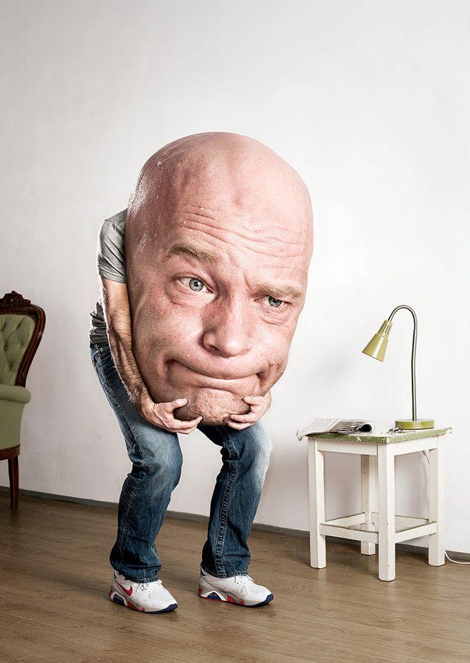 Смешные фото про голову