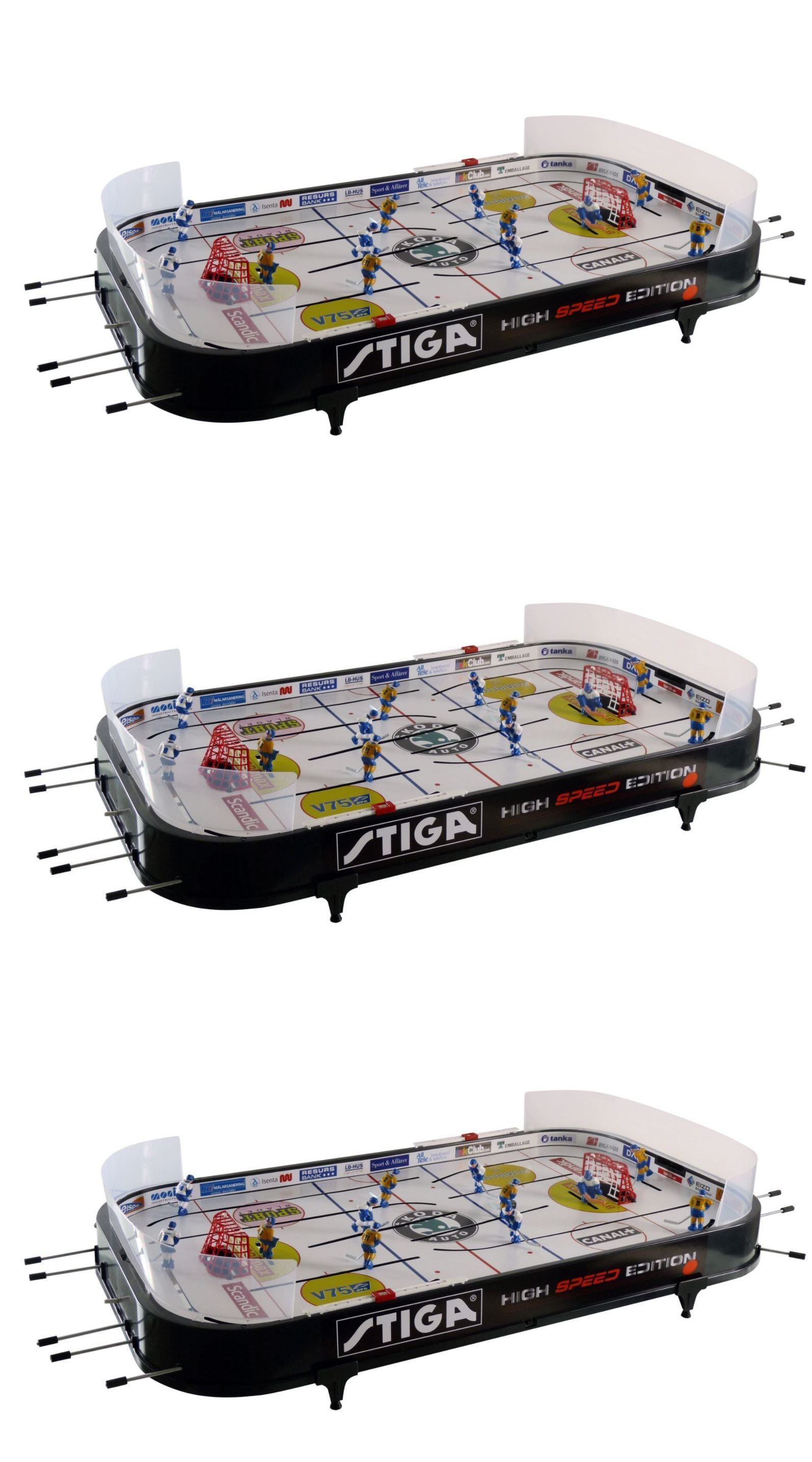Air Hockey 36275: Ice Hockey Arcade Game Table For Kids Toddler Teens  Foosball 2 Player