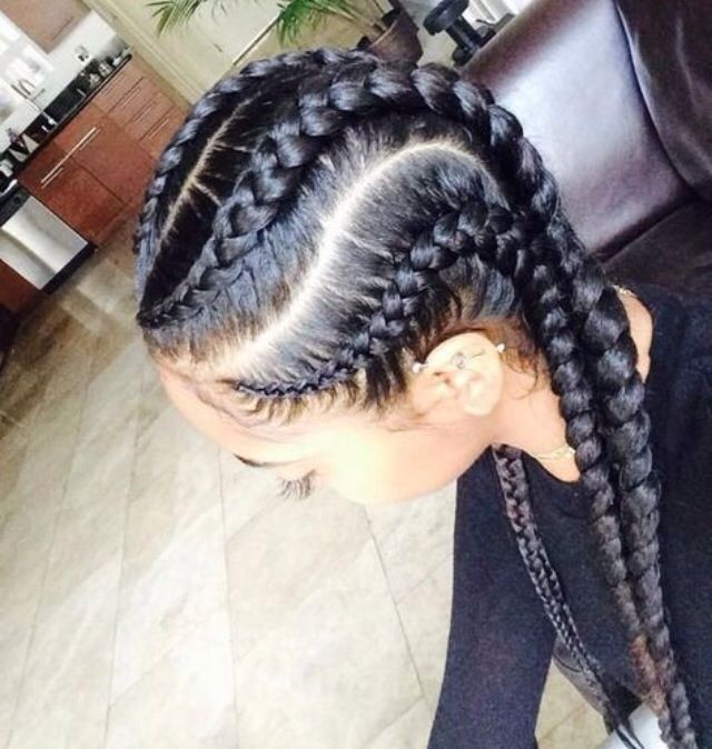 Plain Cornrows Natural Hair Styles Hair Styles Cornrow Hairstyles