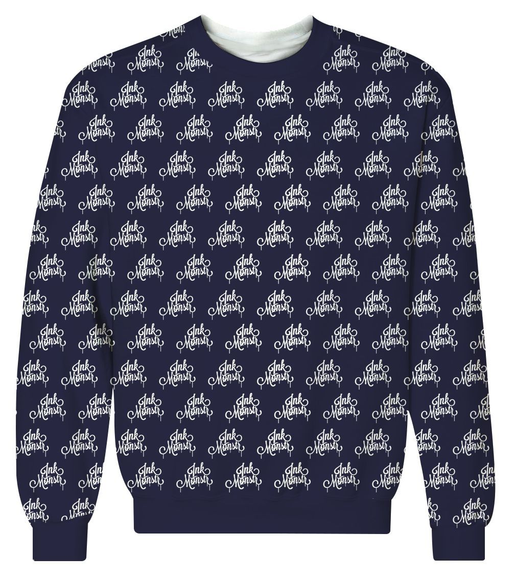 """Drips"" Logo Crewneck Sweatshirt"