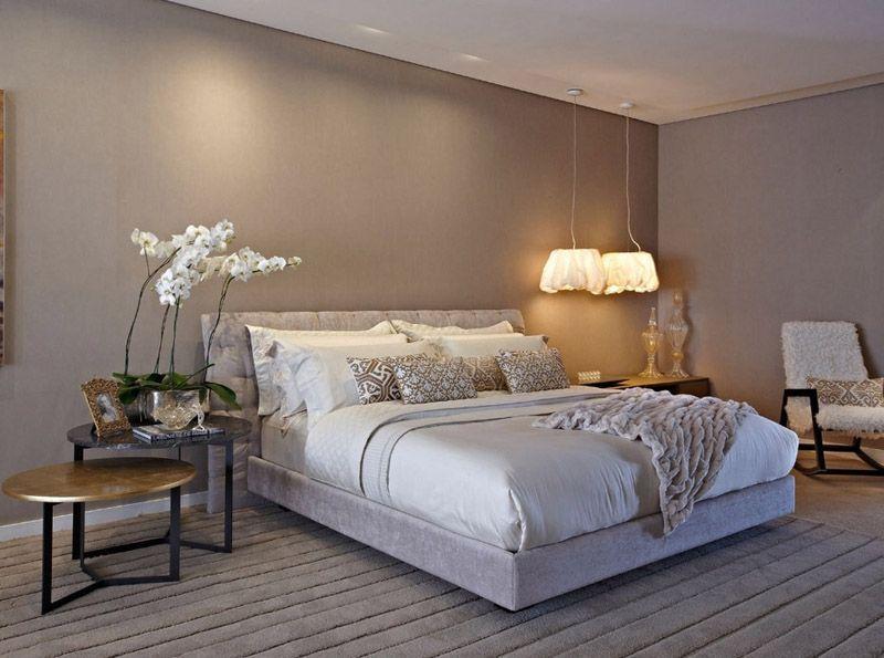 quarto casal decor lustre moderno sofisticado elegante  ~ Quarto Casal Lustre