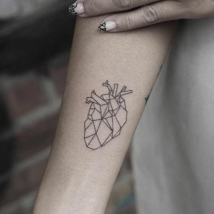 ▷ 1001 + ideas diseños originales de tatuajes geométricos