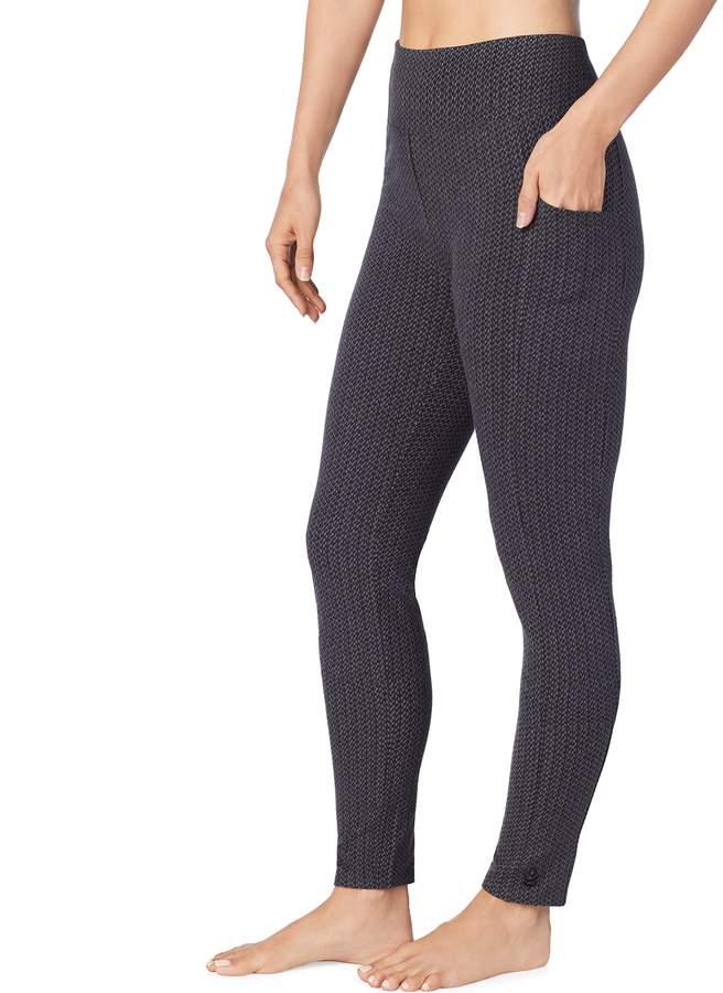 cc4a735f06edb Cuddl Duds Women's Stretch Twill Leggings | Vetement Femme Vetement ...